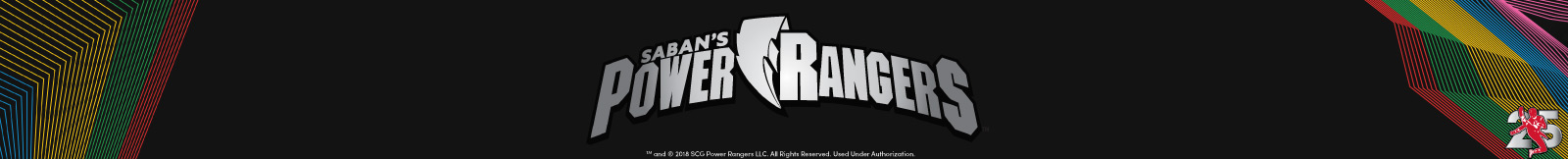 Saban's Power Rangers Category Banner