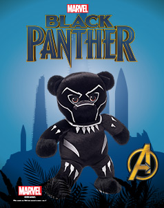 Black Panther Furry Friends