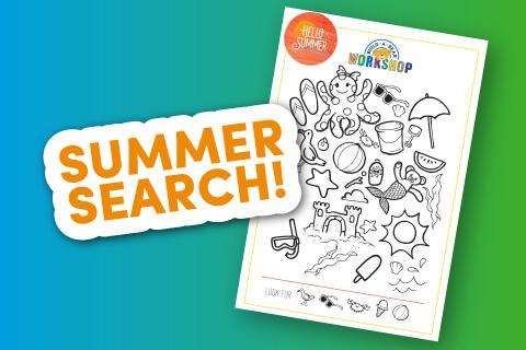 Summer Search - Activity Sheet Thumbnail