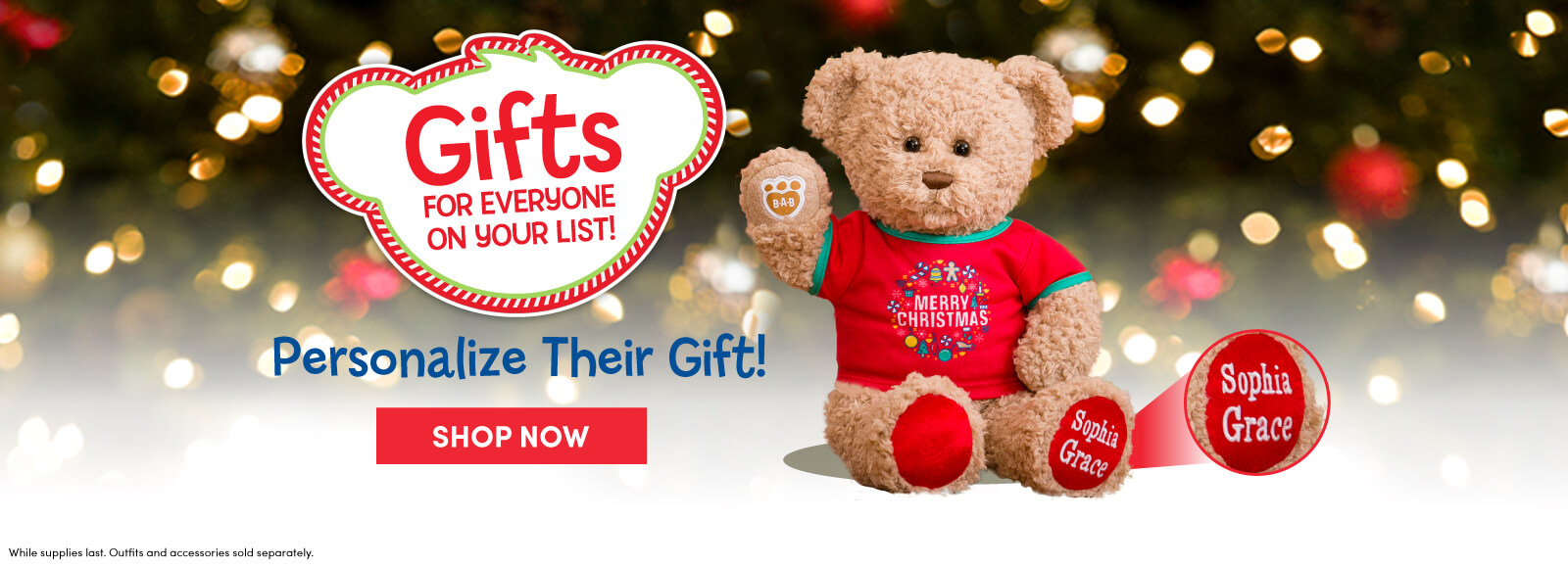 Shop Build-A-Bear Workshop Gift Cards