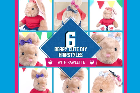 6 berry cute hairstyles - Bunnies with various hairstyles