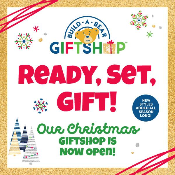 Christmas GiftShop Is Now Open