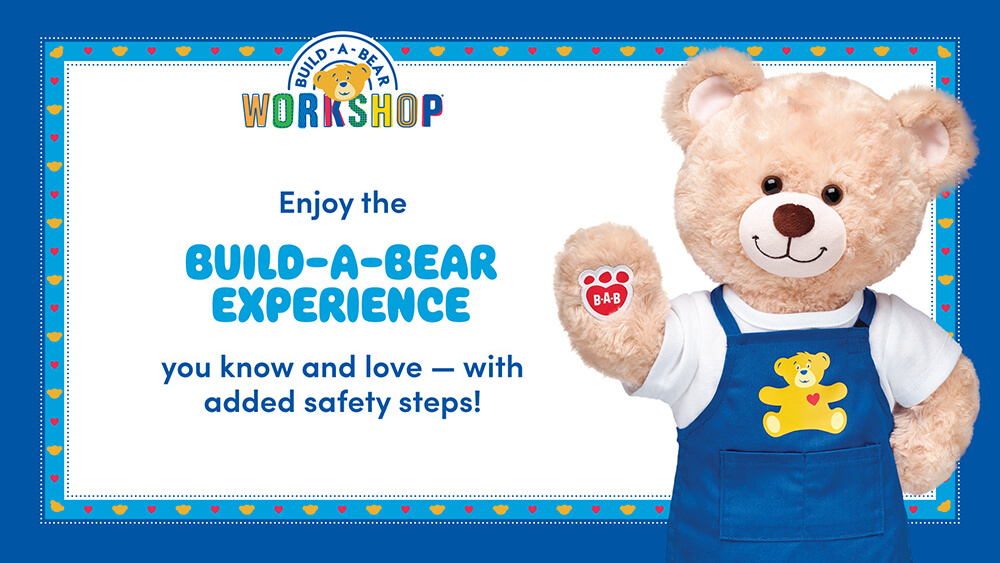 Build-A-Bear Experience - Please Wait Here Sign