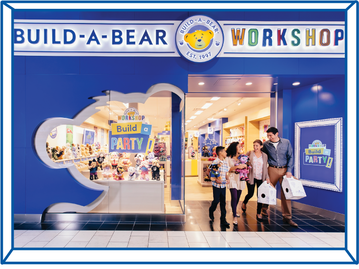 Visiting Build-A-Bear - The Workshop Experience