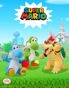Nintendo - Build-A-Bear® (click this image to shop Nintendo Collections)
