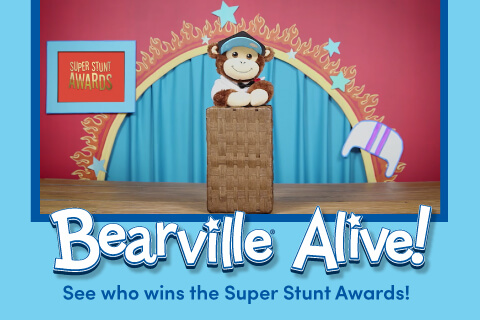 Bearville Alive - See who wins the Super Stunt Awards