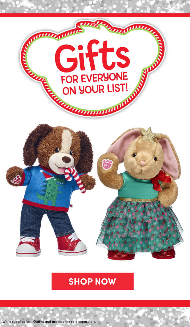 Build-A-Bear Holiday Giftshop