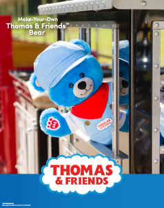 Thomas & Friends™ - Build-A-Bear® (click this image to shop Thomas & Friends™ Collections)