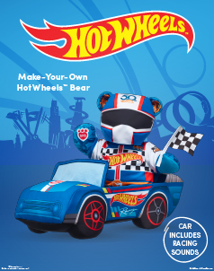 Hot Wheels™ - Build-A-Bear® (click this image to shop Hot Whheels™ Collections)