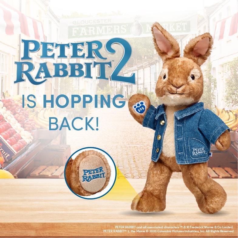 Peter Rabbit - Build-A-Bear®