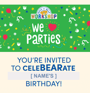 Green Party Invitation