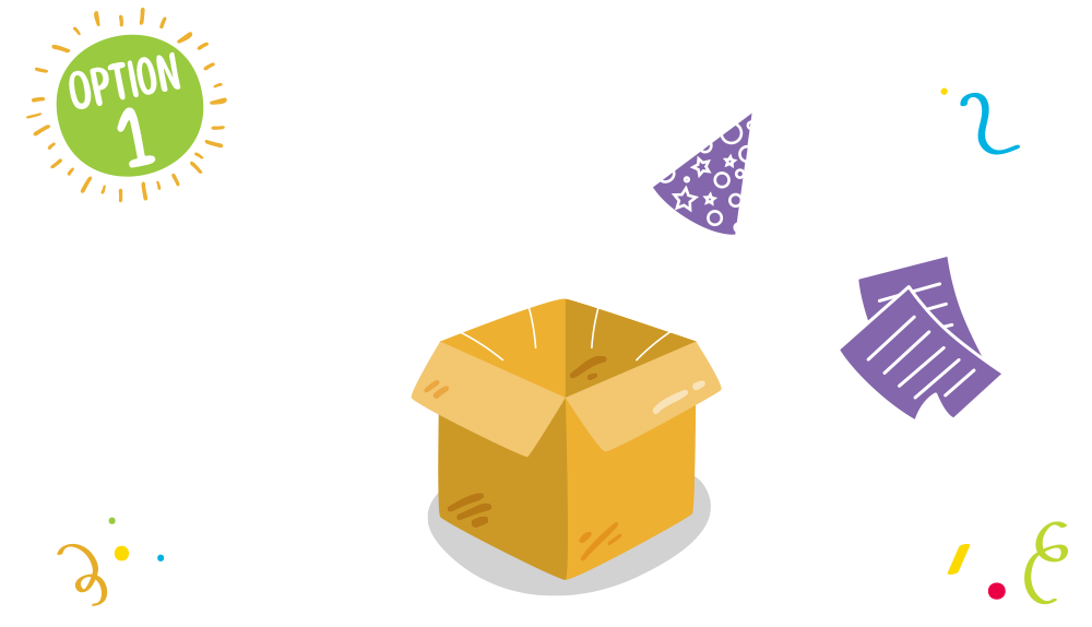 At-Home Party Box Contents