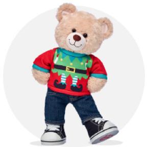 Bear Dressed In NFL Gear