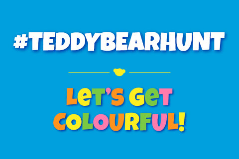 Teddy Bear Hunt - Let's Get Colorful - Colored text