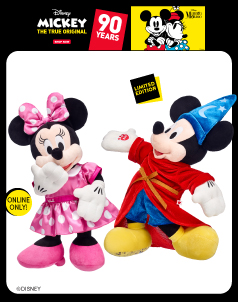 Mickey Mouse™ and Friends - Build-A-Bear® (click this image to shop The Mickey Mouse™ and Friends Collections)