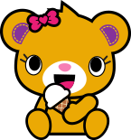Kabu™ Bearnice (Kabu eating ice cream image)