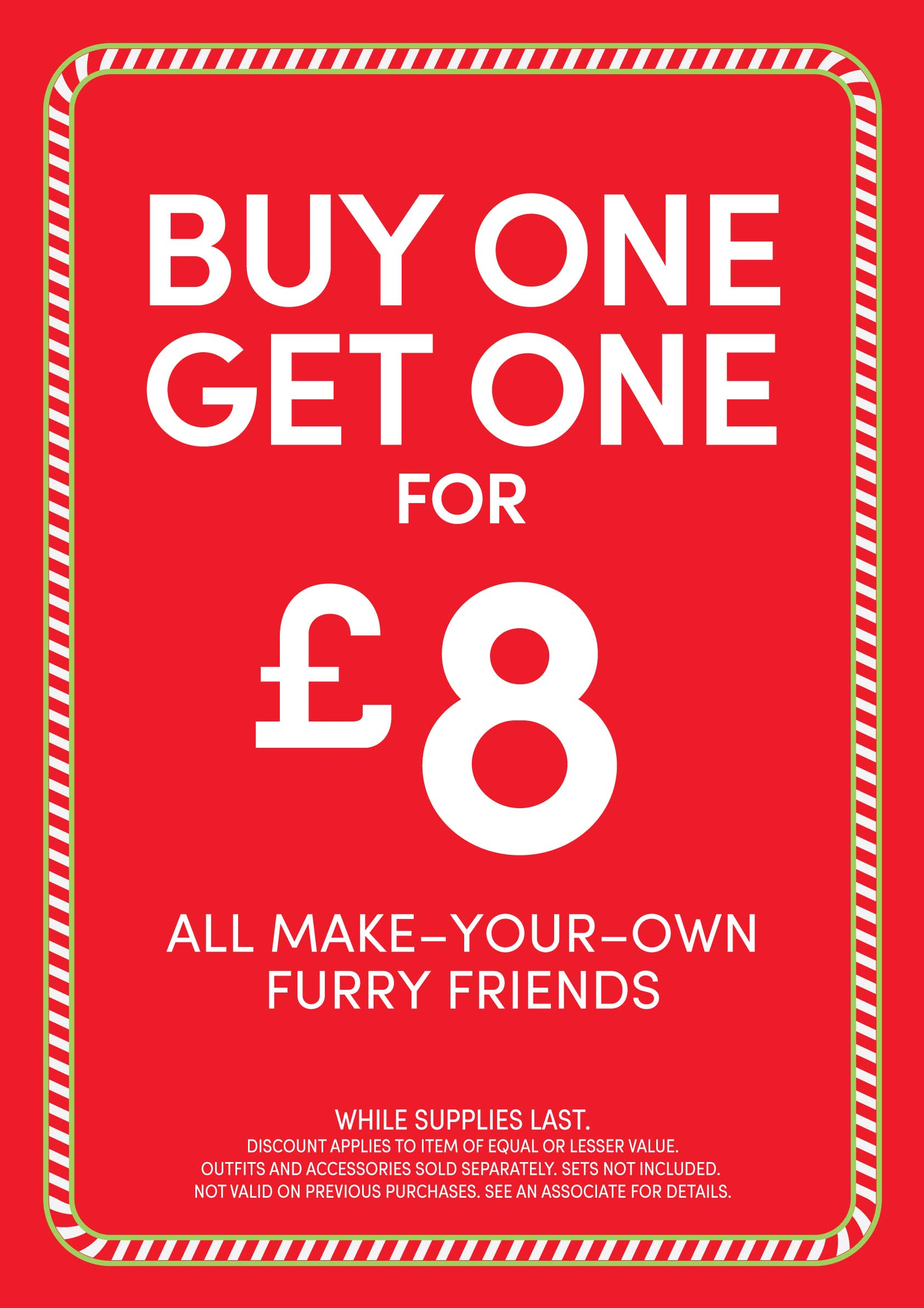 Build-A-Bear Workshop - Buy One, Get One £8