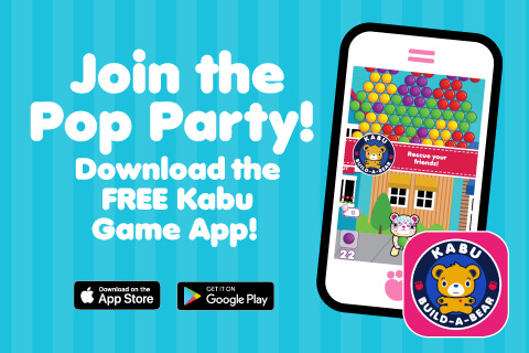 Join the pop party - Download the free Kabu app - Scrrenshot of game on iPhone