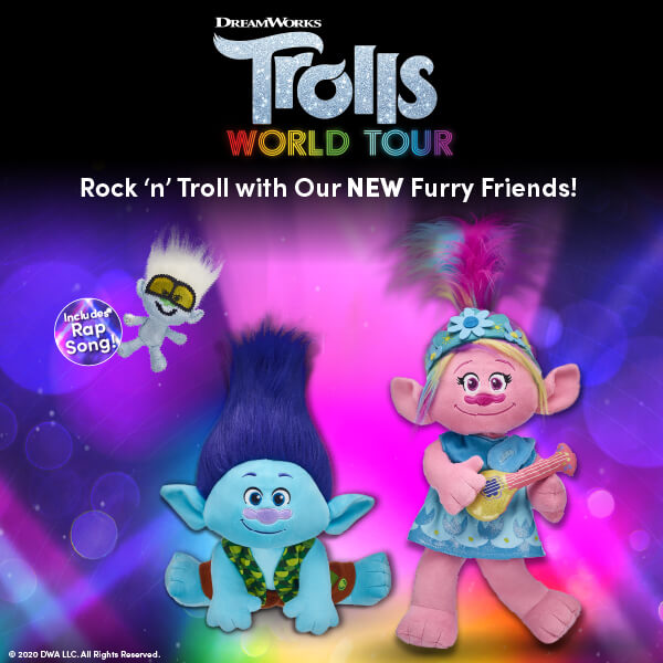 Trolls World Tour - Build-A-Bear®