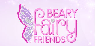 Beary fairy friends logo