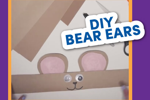 DIY Bear Ears - Activity Sheet Thumbnail