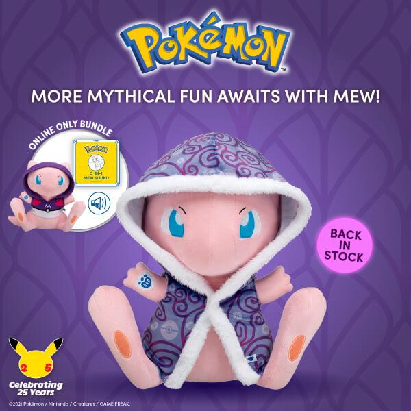 Pokémon Mew - Build-A-Bear®
