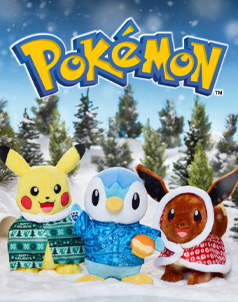 Pokémon™ - Build-A-Bear® (click this image to shop Pokémon™ Collections)