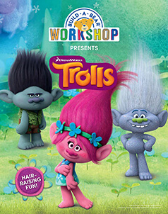 DreamWorks Trolls - Build-A-Bear® (click this image to shop Trolls Collections)
