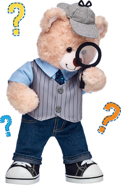 Bear With Magnifying Glass