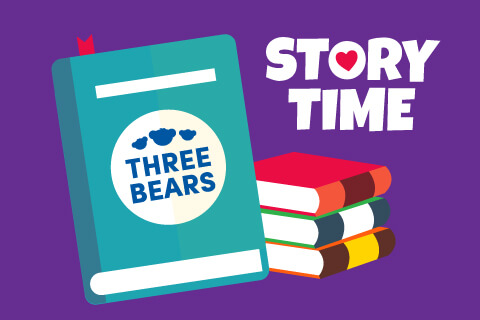 Three Bears Book Illustration