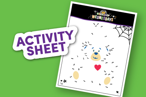 Connect Dots - Activity Sheet Thumbnail