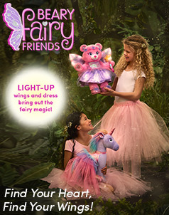 Beary Fairy Friends™ - Build-A-Bear® (click this image to shop Beary Fairy Friends™ Collections)