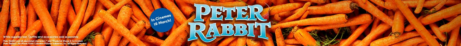 Peter Rabbit Category Banner
