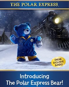 Polar Express™ - Build-A-Bear® (click this image to shop Polar Express™ Collections)
