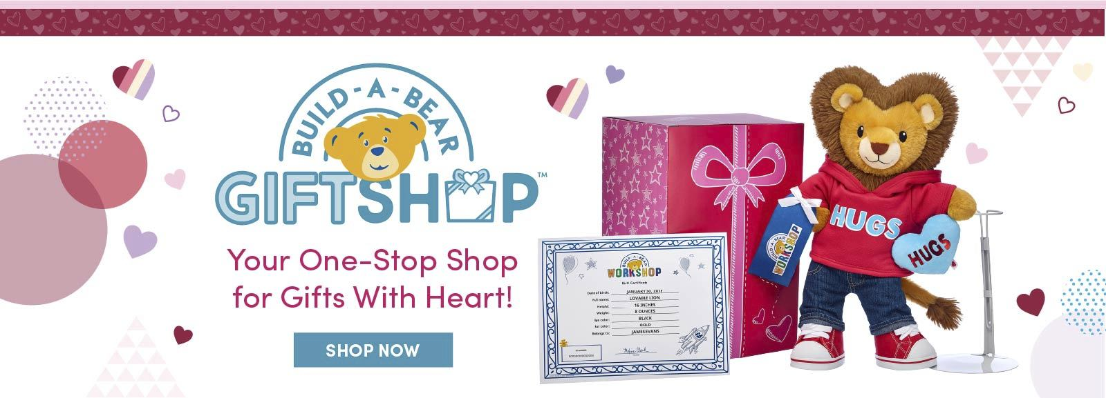 Build A Bear Giftshop Collections