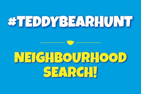 #TEDDYBEARHUNT - Neighborhood Search image based text