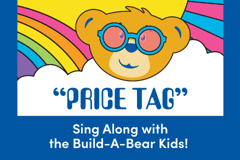 Price Tag - Sing Along With the Build-A-Bear kids! - Bear head illustration