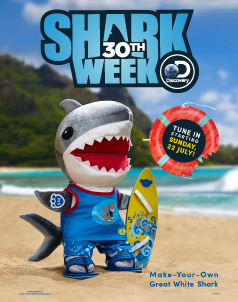 Shark Week Furry Friends - Build-A-Bear® (click this image to shop Shark Week Collections)