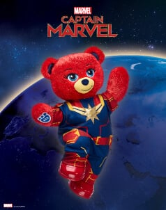 Captain Marvel - Build-A-Bear® (click this image to shop The Marvel Collections)