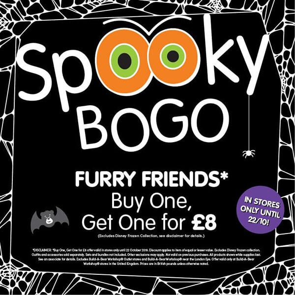 Spooky BOGO Sale