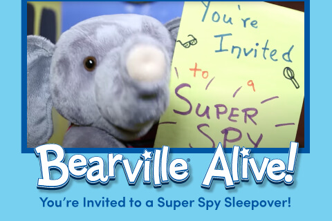 Bearville Alive - Your're invited to a super spy sleepover - Photo of elephant bear