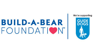 Build-A-Bear and The Guide Dogs for the Blind Association Logos