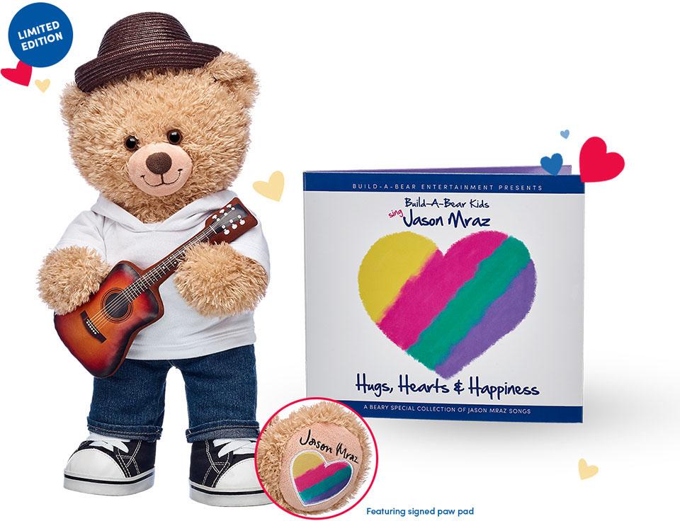 Jason Mraz Bear And CD
