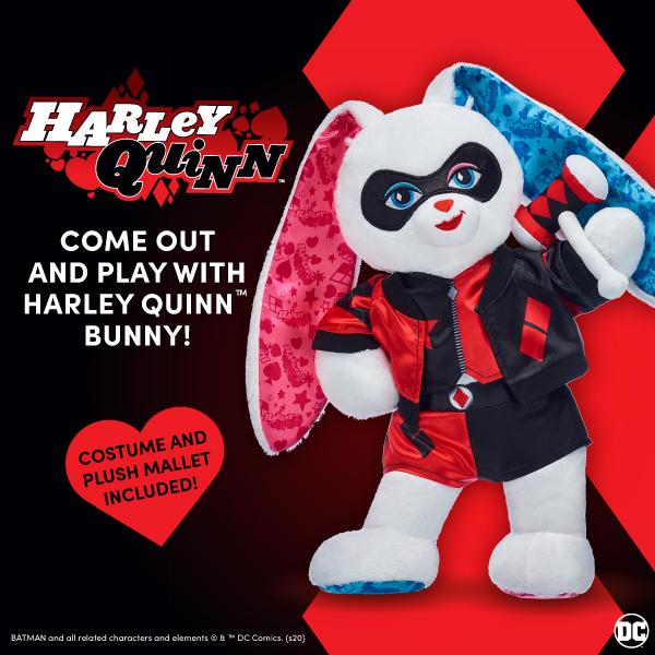 Harley Quinn - Build-A-Bear®