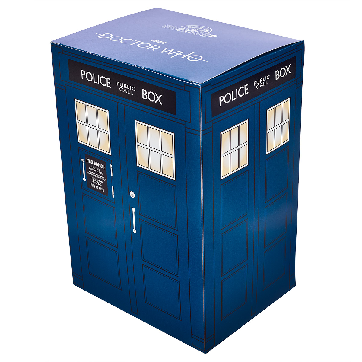 Online Exclusive Doctor Who TARDIS Gift Box