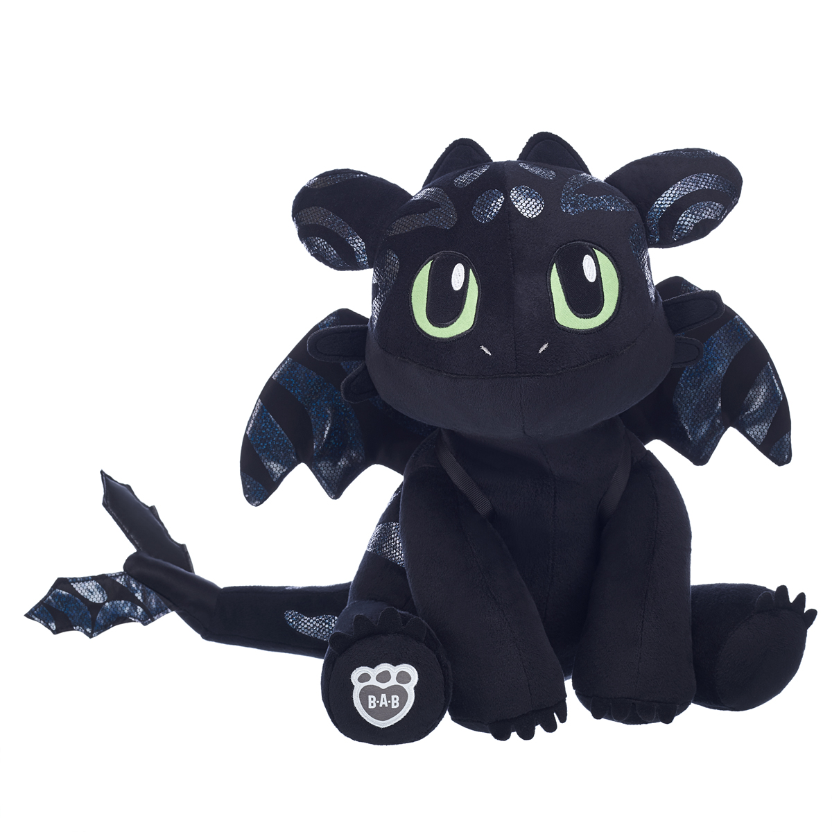 Black Cat Stuffed Animal, Toothless Plush Dragon Shop Toothless Soft Toys At Build A Bear