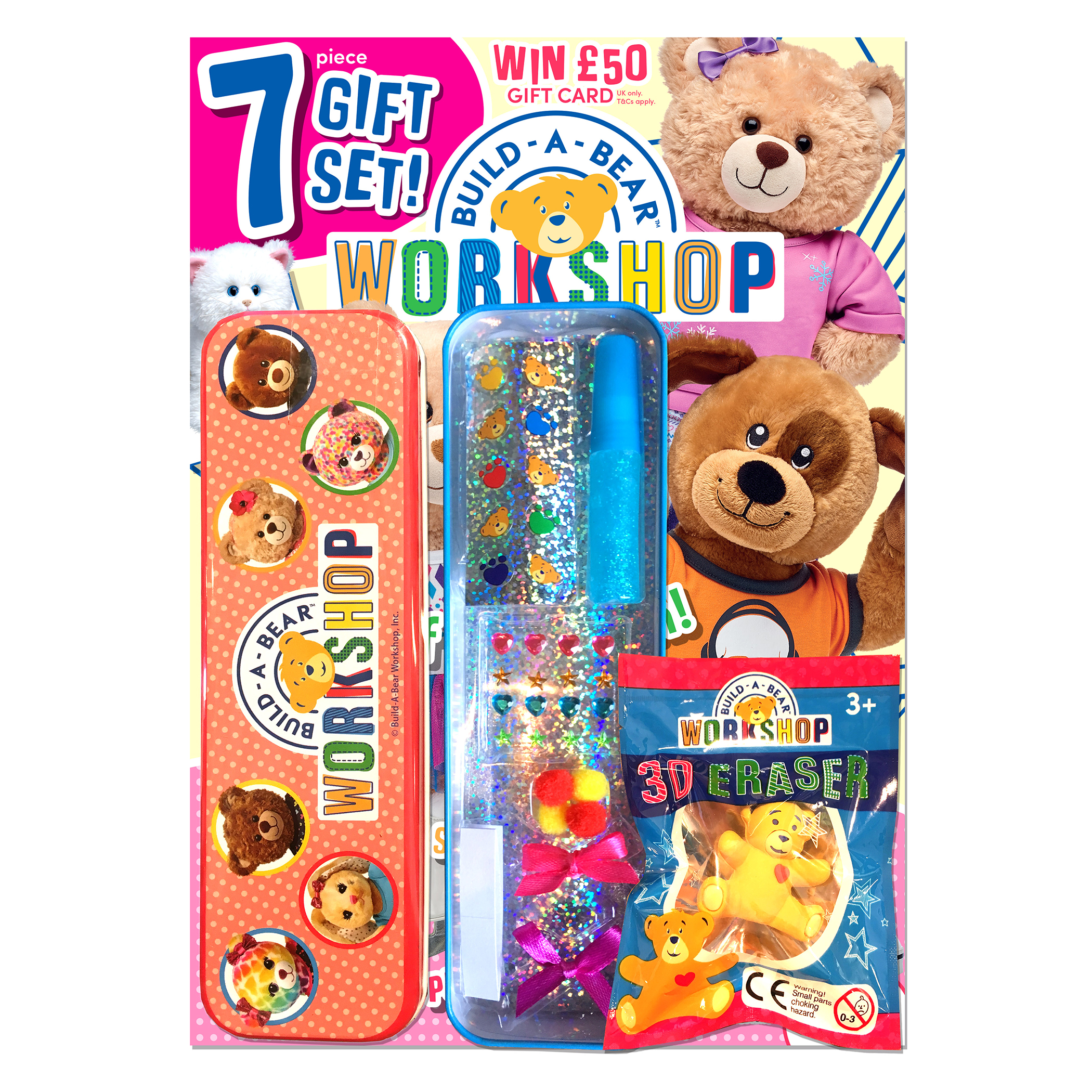 Build-A-Bear Workshop® Magazine Gift Set 7 pc.